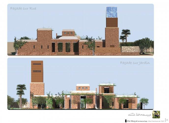 Projet r sidentiel pour les chercheurs de l 39 universit mohammed vi - Residence les jardins de l universite ...